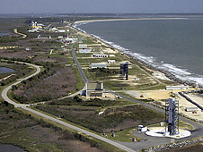 NASA Wallops Flight Facility aerial view
