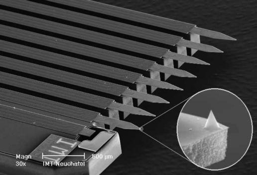 NASA - Sharp Tips on the Atomic Force Microscope