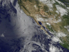 Tropical Storm Iselle south of Baja California