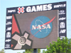 NASA Meatball on X-Games Jumbotron