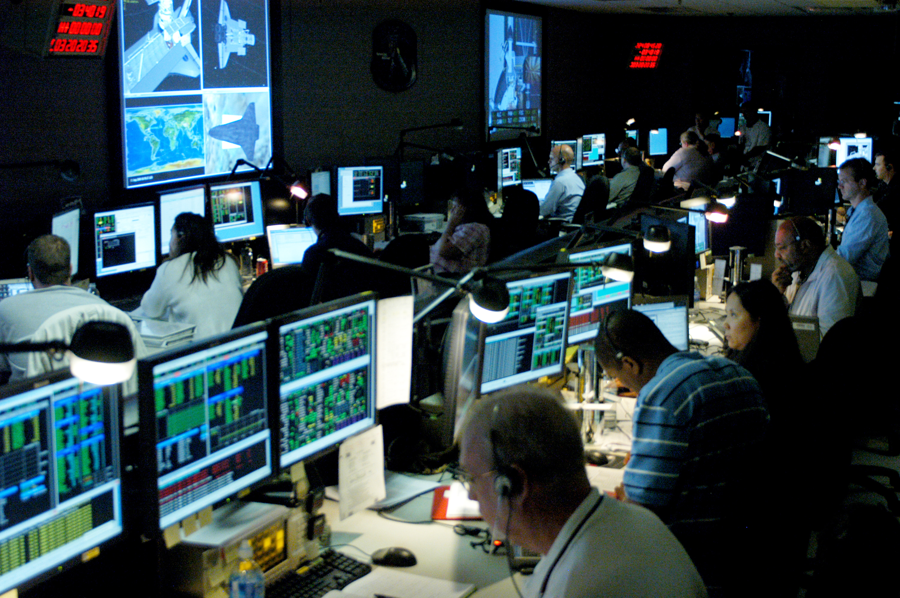 NASA - The Space Telescope Operations Control Center (STOCC) at GSFC