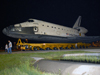 Space Shuttle Atlantis rolls to the Vehicle Assembly Building