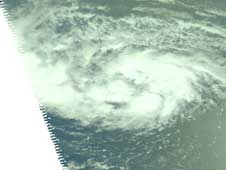 AIRS image of Ike on Sept. 2, 2008