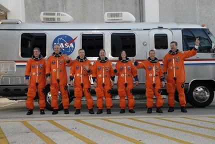 STS-125 Astronauts