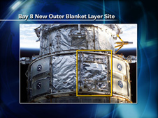 Bay 8 New Outer Layer Blanket Site