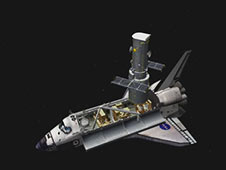 STS-125 Flight Day 7 Activities -- Flight Support Structure Rotates Hubble Space Telescope