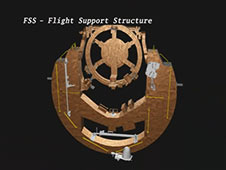 STS-125 Payload -- Flight Support Structure