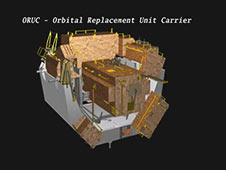 STS-125 Payload -- Orbital Replacement Unit Carrier