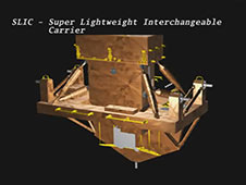 STS-125 Payload -- Super Lightweight Interchangeable Carrier