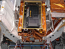 Cosmic Origins Spectrograph in its carrier