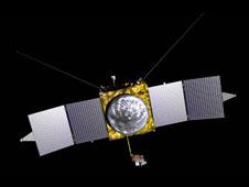 A sonda marciana MAVEn, a lançar em 2013 em http://www.nasa.gov