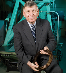 Building a better bearing - Erwin Zaretsky helped develop rolling-element bearings currently used in commercial and military aircraft engines.