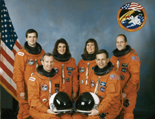 Family business - David Low in his official crew portrait for his last shuttle mission, STS-57. Low's fellow crew members on the space shuttle Endeavour were Peter Wisoff, Brian Duffy, Nancy Sherlock, Janice Voss and Ronald Grabe.