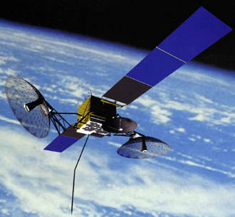 The Tracking and Data Relay Satellites comprise the space segment of NASA's communications relay system