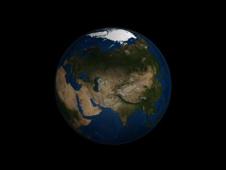 Earth's Arctic region