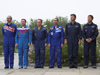 Expedition 18 Flag Raising Ceremony