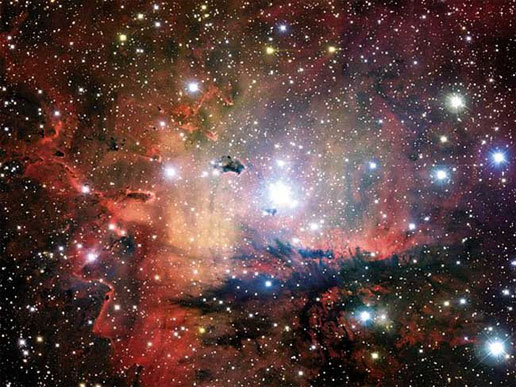 NGC 281: Cluster, Clouds, and Globules