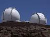 The Keck Observatories in Hawaii.