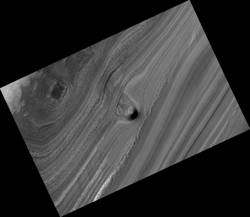 Unusual Mound in North Polar Layered Deposits
