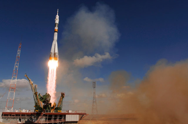 Image result for soyuz tma-13m launch