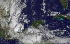 Tropical Depression 16 on October 16, 2008