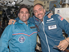ISS017-E-018998 -- Expedition 18 Flight Engineer Greg Chamitoff and spaceflight participant Richard Garriott