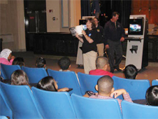 Ares Education Associate, Stephanie Wilson teaches kids about NASA