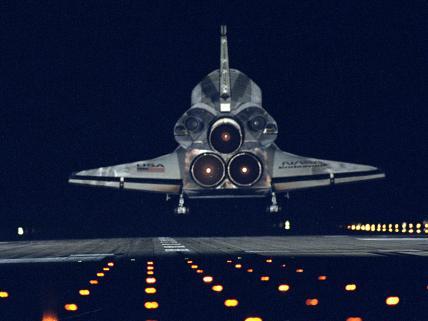 STS-72 Landing