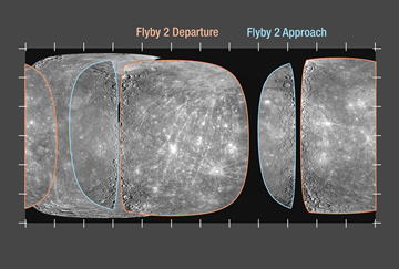MESSENGER images of Mercury