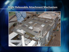 Flight Releasable Attachment Mechanism