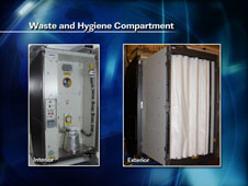 Waste and Hygiene Compartment