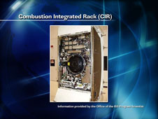 Combustion Integrated Rack