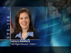 Holly Ridings / Orbit 1 - ISS Flight Director
