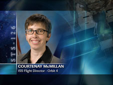 Courtenay McMillan / Orbit 4 - ISS Flight Director