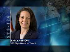 Emily Nelson / Team 4 - ISS Flight Director