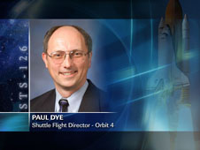 Paul Dye / Orbit 4 - Shuttle Flight Director