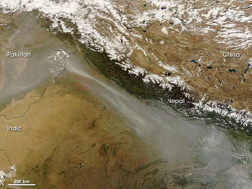 nasa himalayas from space - photo #28