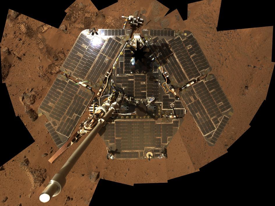 spirit spacecraft images of a mer - photo #24