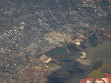 ISS017-E-014158: Moffett Federal Air Field and neighboring areas