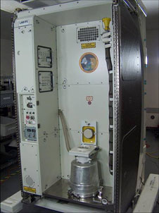 ISS Waste and Hygiene Compartment