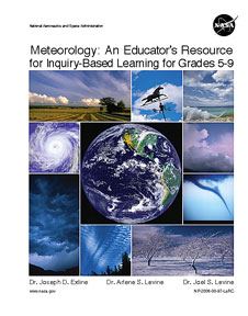 Cover of Meteorology: An Educator's Resource for Inquiry-Based Learning for Grades 5-9
