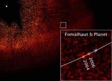 Hubble image of Fomalhaut