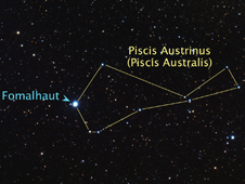 Constellation Picis Australis