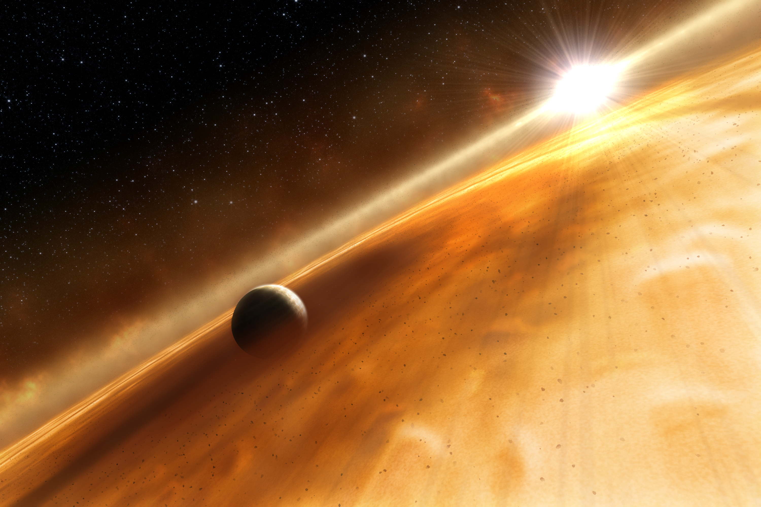NASA - Hubble Directly Observes a Planet Orbiting Another Star