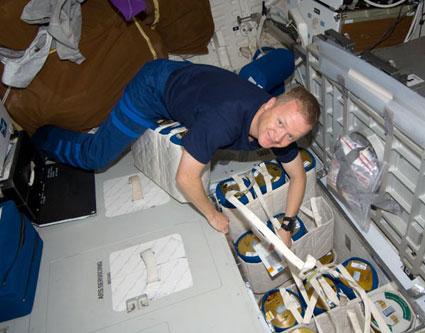 S126-E-011514 --- Astronaut Eric Boe