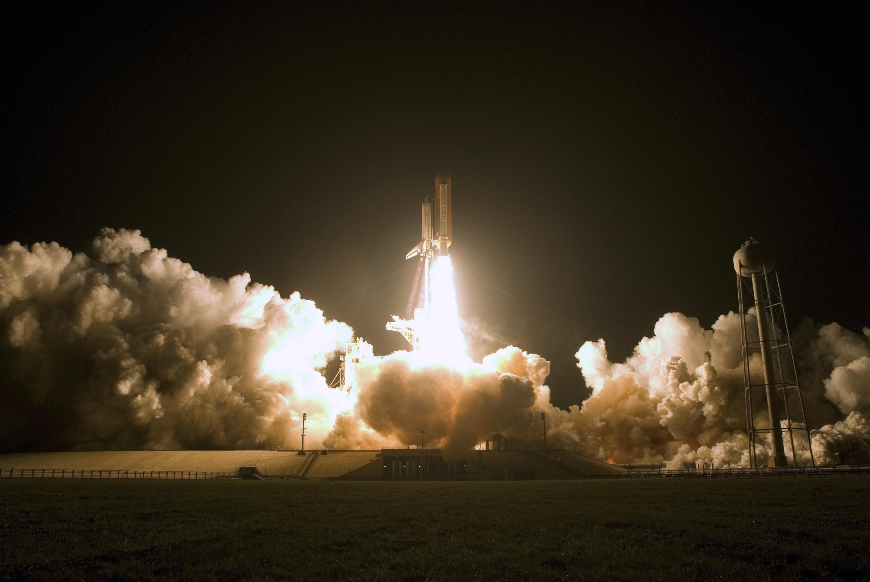 STS-126 Space Shuttle Endeavour Launch Public Domain Clip ...