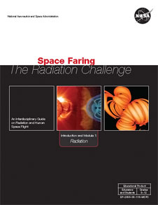 Cover of Space Faring: The Radiation Challenge Module 1 Educator Guide