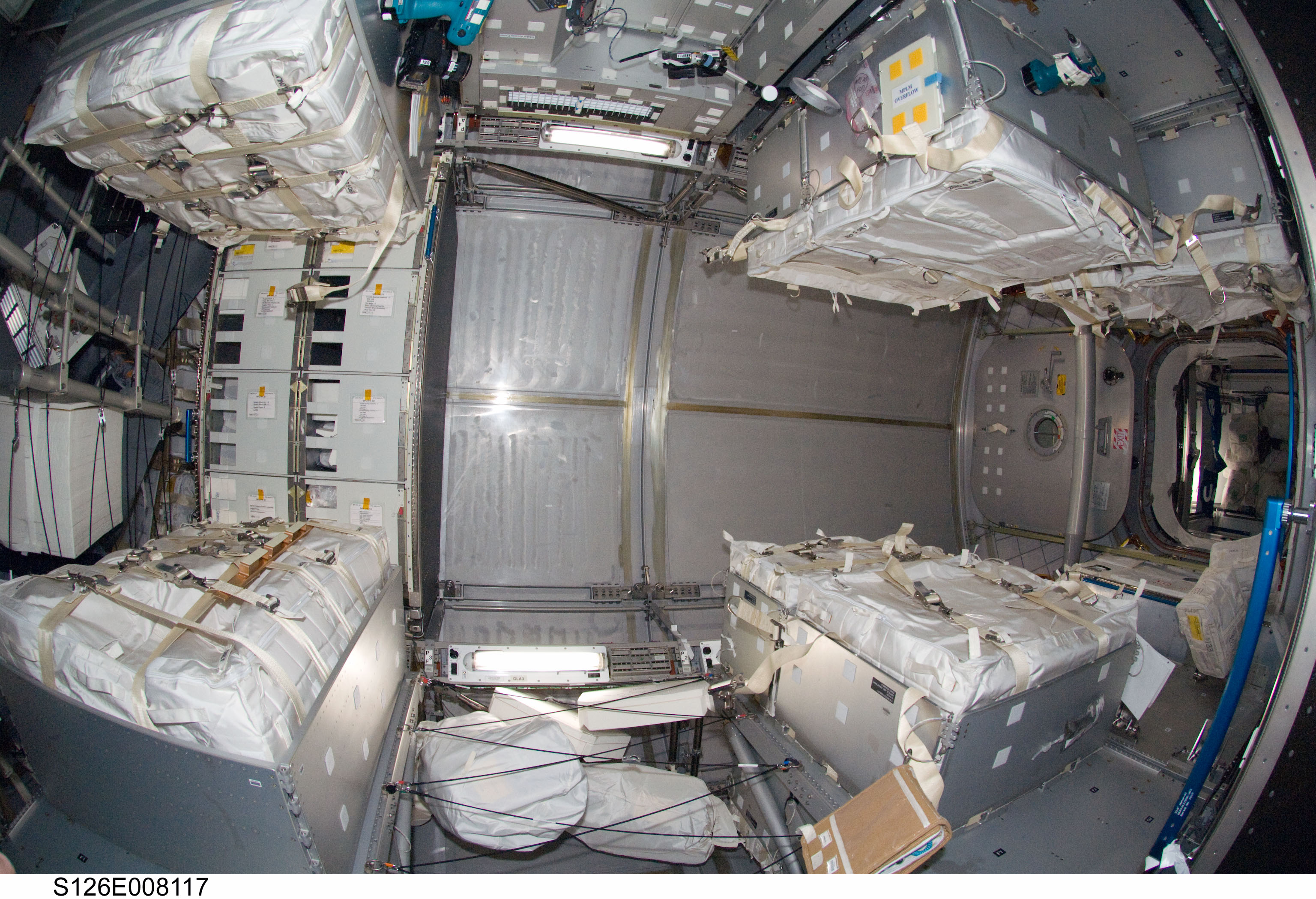 International Space Station Sleeping Quarters (page 2 ...