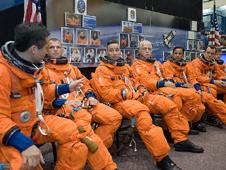 JSC2008-E-052124 -- STS-119 crew