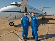 JSC2008-E-140065 -- STS-119 Commander Lee Archambault Pilot Tony Antonelli